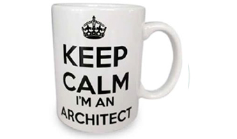 Mug architetto