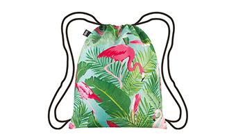 zaino sacca loqi flamingo