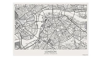 Tovaglietta vinile London