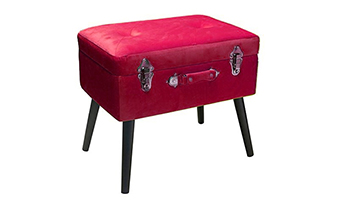 pouf con bauletto pusher