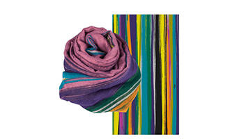 Foulard decorato Pylones
