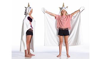Coperta da indossare unicorno