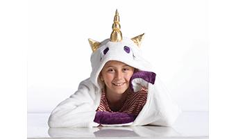 coperta mantella unicorno