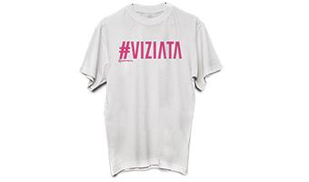 T-shirt #VIZIATA