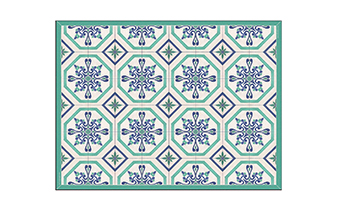 tappeto in vinile (tipo beija flor) telki