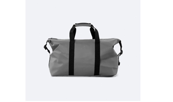borsone rains grigio weekend bag