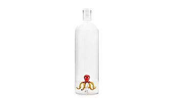 bottiglia-vetro-acqua-polpo-balvi