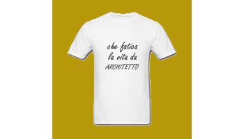 T-shirt architetto