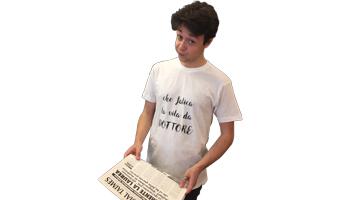 t-shirt che fatica la vita del dottore