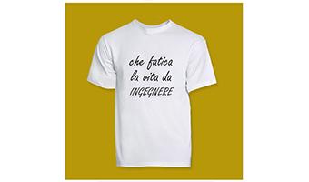 T-shirt ingegnere