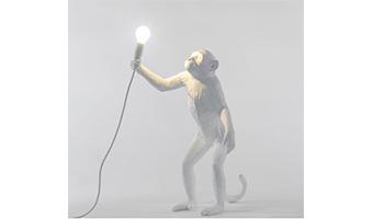 lampada scimmia in piedi seletti