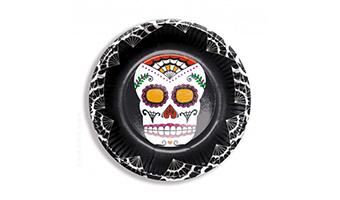 piatti teschio messicano