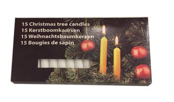 candele bianche per ricambio