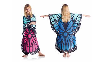 """Coperta da indossare """"farfalla"""""""