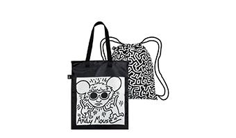 Zaino borsa reversibile Keith Haring