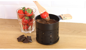 lumi fonduta di cioccolato cookut