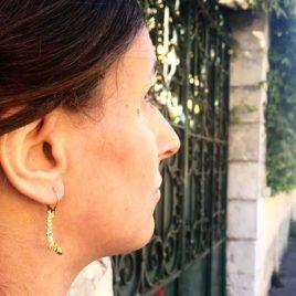 orecchini argento amore