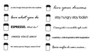 10 tipi di frasi adesive