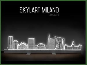 lampada skyline milano