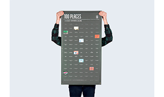 lista dei 100 posti da vedere