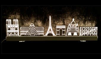 Lampada Skyline Paris LED