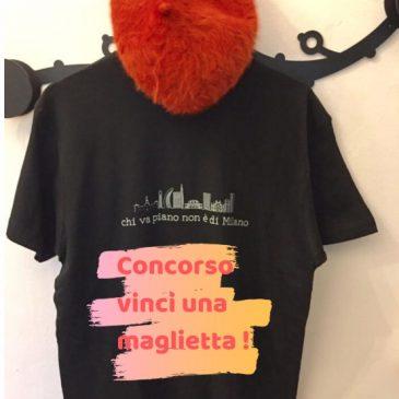 Concorso vinci una maglietta da milanese doc