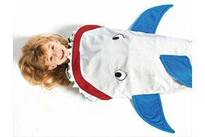 coperta squalo per bambini