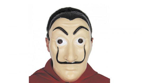 maschera casa di carta dali