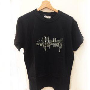 maglietta skyline milano