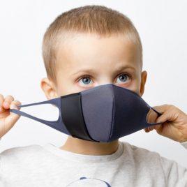mascherina banale bambini