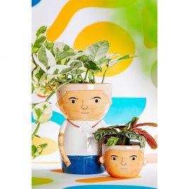 vaso piante omino sass&belle
