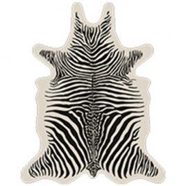 tappeto sagomato zebra vinile