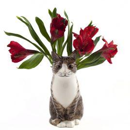 vaso gatto ceramica