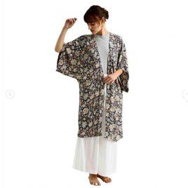 kimono in seta sintetica zen ethic