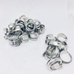 anelli posata d'argento