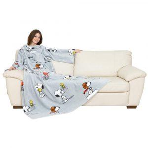 coperta maniche snoopy