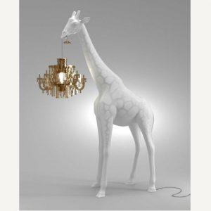 giraffa lampadario