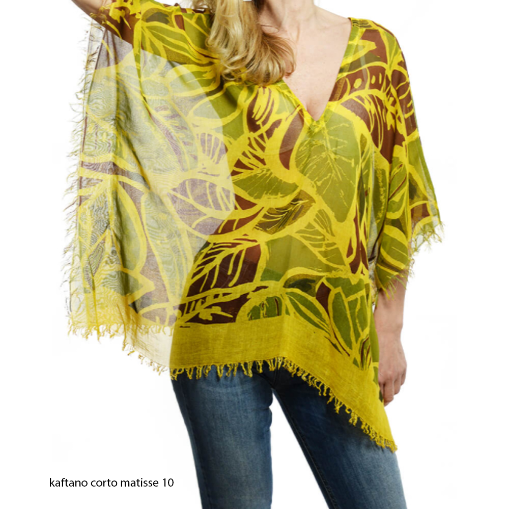 Voglia di estate: kimoni, kaftani e foulard pareo in bamboo
